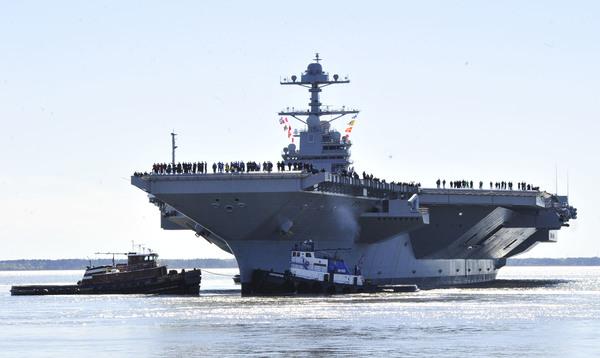 Estados Unidos moviliza barcos de guerra en Corea
