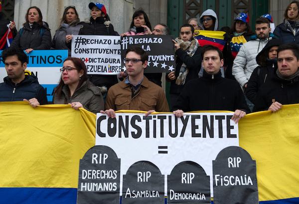 Fiscalía venezolana pide anular instalación de Constituyente