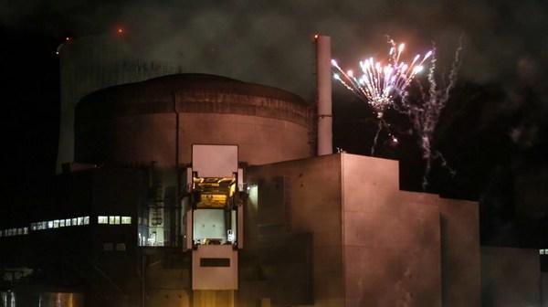 Greenpeace irrumpe en central nuclear de Francia
