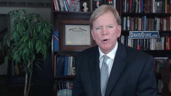 David Duke, el líder del KKK que alaba a Trump