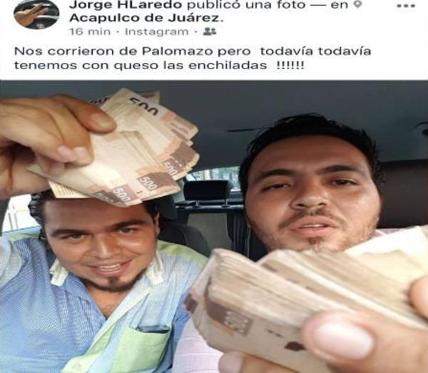 Cesan a funcionario que presumió dinero en redes