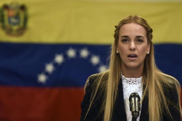 Confiscan 61,000 dólares a esposa de Leopoldo López