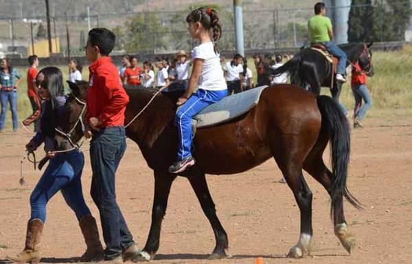 En Chihuahua primer centro de equinoterapia del país