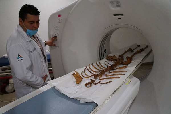 Conservarán en México el esqueleto más antiguo de América