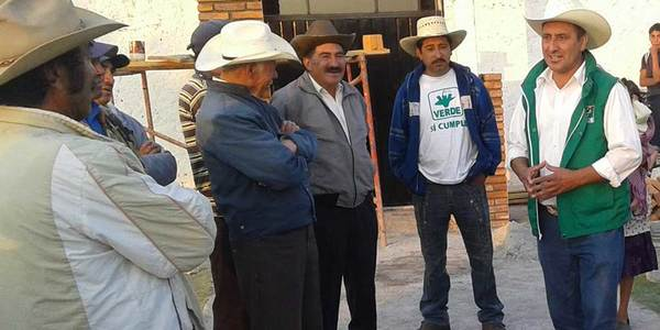 Analiza Verde si repite candidato para Omitlán