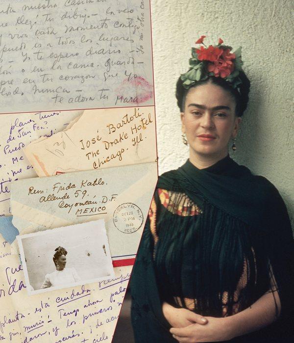 Las apasionadas cartas de Frida
