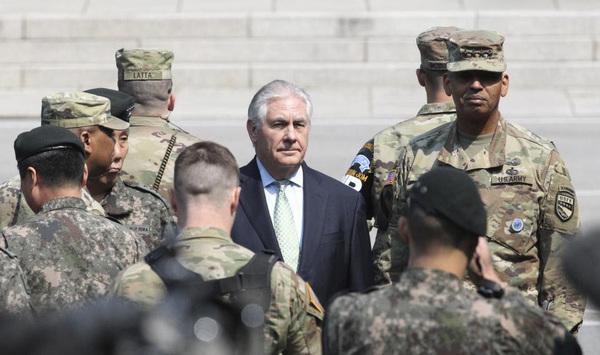 La falta de diplomacia de Trump en Asia expone a una guerra mundial