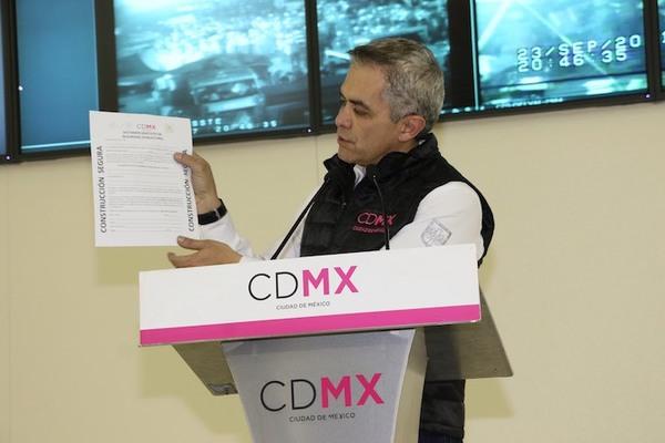 CDMX concluye trabajos en 14 inmuebles; revisan otros 7 mil