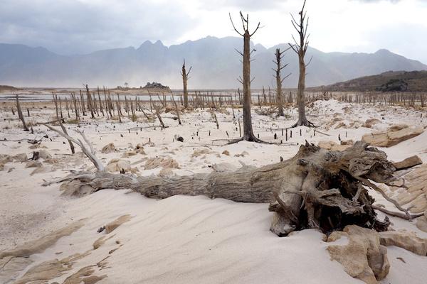 Cambio climático amenaza a más sitios naturales