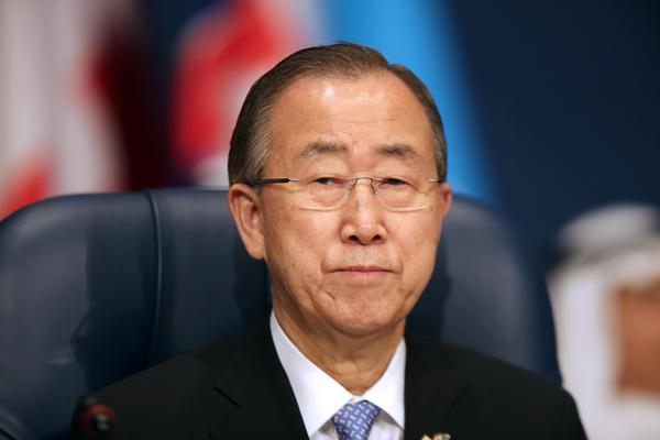 Ban Ki-moon llama a evitar masacre de refugiados en Siria