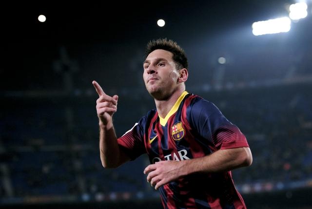 Buscando a Messi