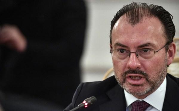 Videgaray visita Brasil en medio de dura negociación de TLCAN