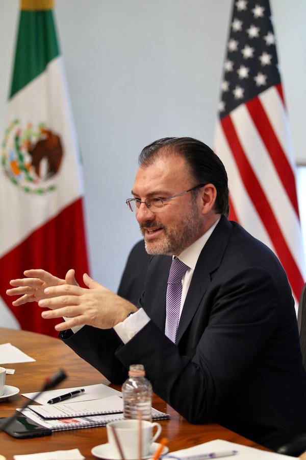 México dejará el TLCAN si Trump inicia salida: SRE
