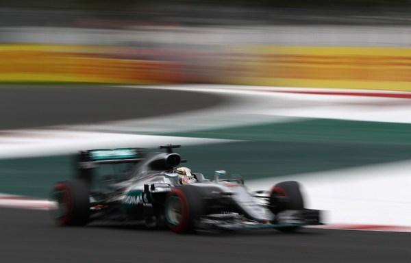 Hamilton, el más rápido en las primeras pruebas del GP de México