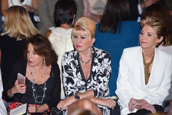 Chocan Melania y exesposa de Trump