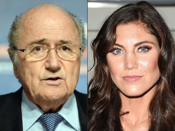 """Blatter considera """"ridícula"""" acusación de agresión sexual en su contra"""