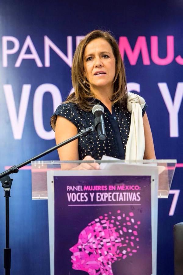 Una mujer quiere ser presidenta