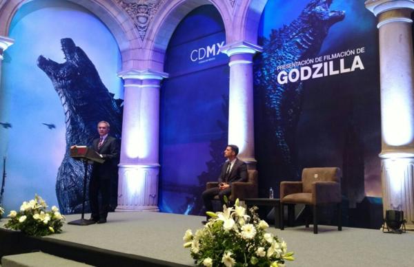 """Filmarán escena clave de """"Godzilla"""" en la Ciudad de México"""