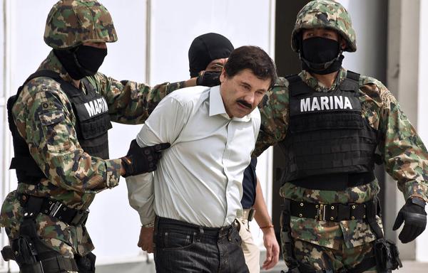 """Tribunal federal concede suspensión de extradición a EE.UU del """"Chapo"""" Guzmán"""