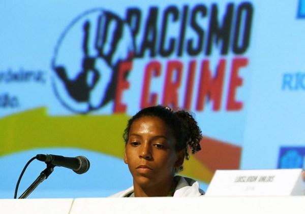 Agresiones y racismo en Río