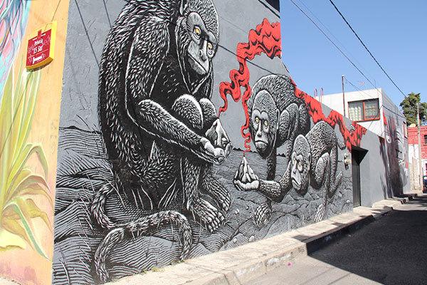 Rescatan barrios antiguos de Puebla, a través de Arte Urbano