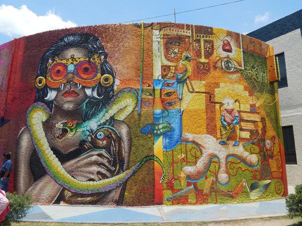 Finaliza con éxito Encuentro Internacional de Muralistas
