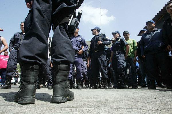 Hidalgo, el 17 con más fuerza policial