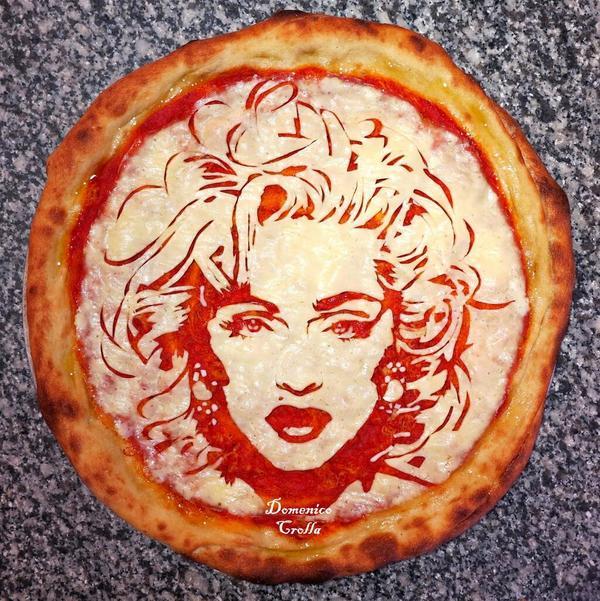 Retrata a celebridades ¡en pizzas!