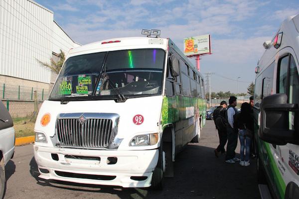 Aumentan tarifas de transporte público en el Edomex