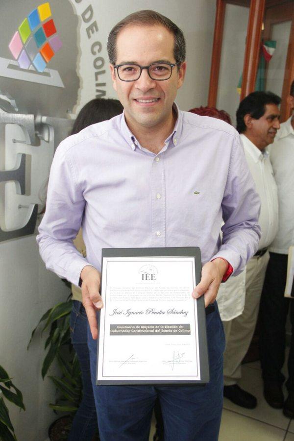 """Peralta pide """"dejar atrás"""" las elecciones en Colima; PAN impugnaría"""