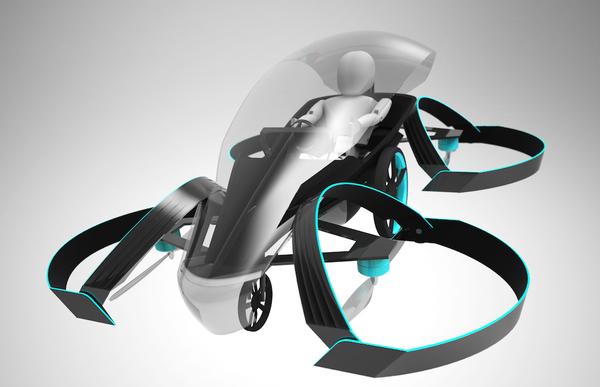 Toyota financia proyecto de auto volador con la mirada en 2020