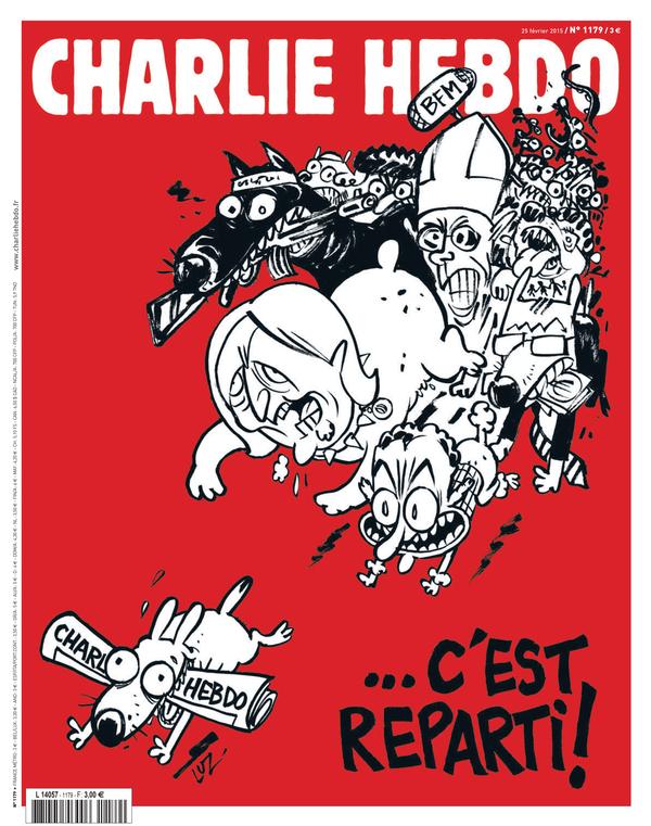 Charlie Hebdo lanza polémica portada