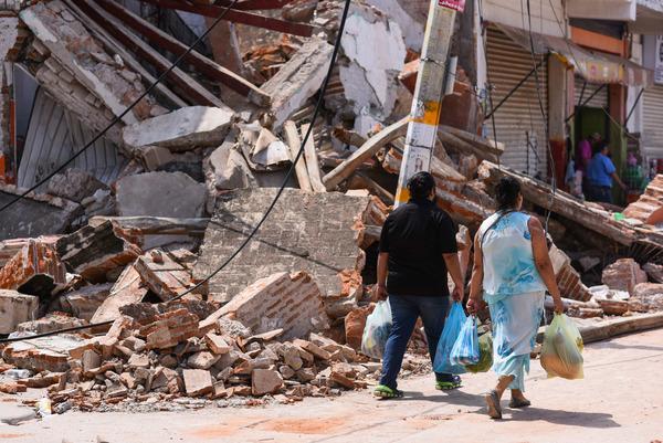 """""""¿Y ahora qué?"""", se preguntan en México tras sismo"""