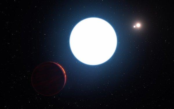 Descubren planeta que orbita en torno a tres soles