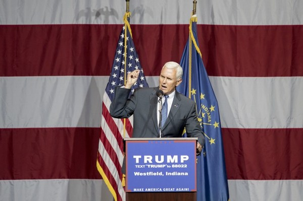 Trump nombra a Mike Pence su compañero de fórmula