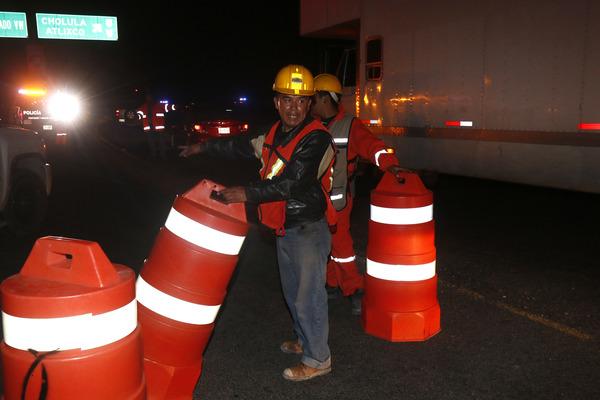 Informan de rutas alternas por cierre de la autopista México Puebla