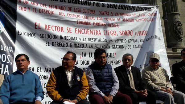 DDHPO pide que estudiantes de Derecho de Oaxaca no tomen clases en la calle