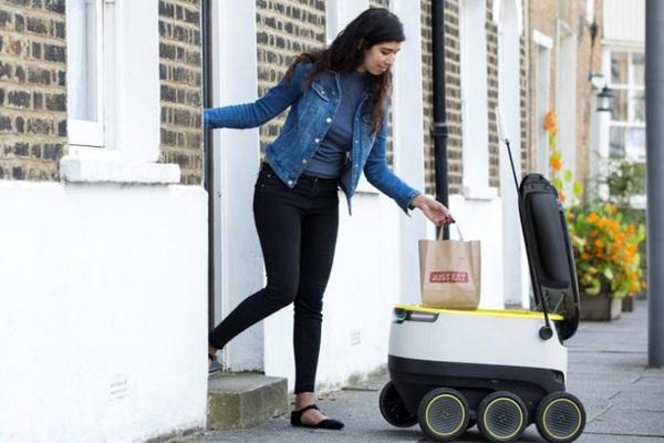 Robots harán entregas a domicilio en Europa, incluida Londres