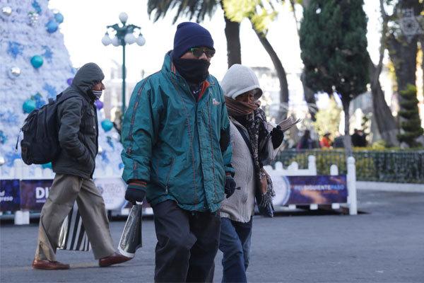 Saldo blanco en Puebla ante frentes fríos