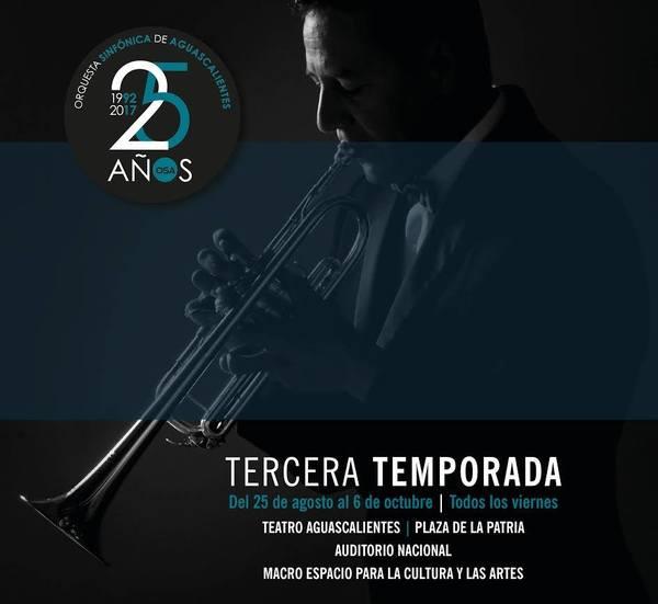 Festeja Orquesta Sinfónica 25 aniversario