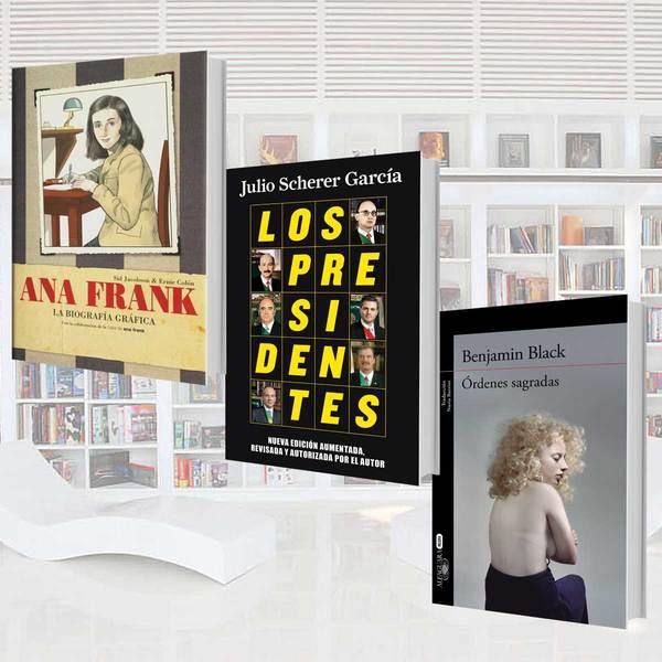 #NWrecomienda: Agenda semanal de libros del 18 al 24 de enero