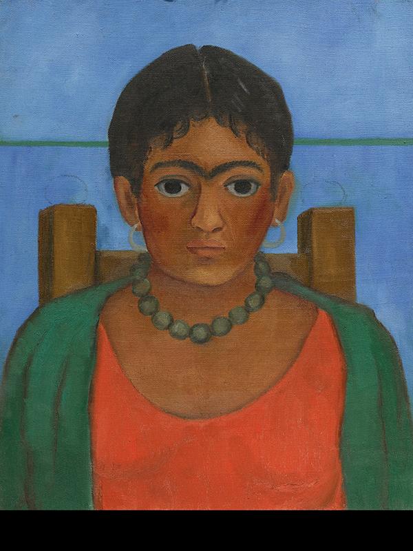 Subastan cuadro desconocido de Frida Kahlo