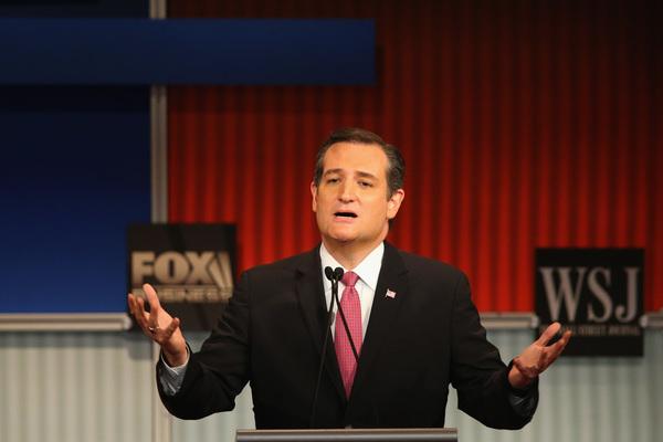 Ted Cruz gana el debate republicano en redes sociales