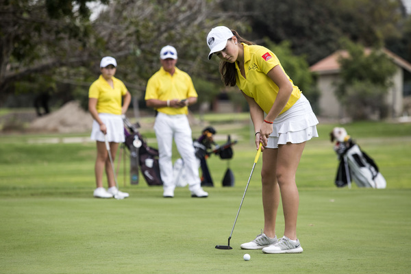 La belleza del golf