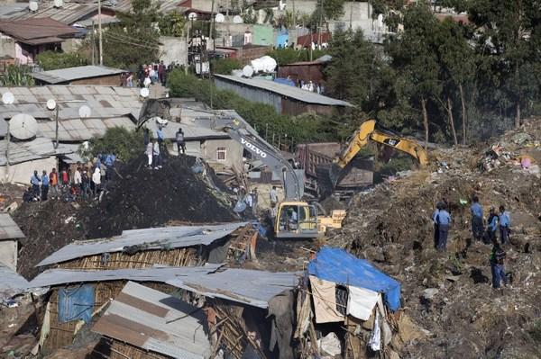 Al menos 46 muertos por avalancha en Etiopía
