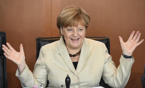 Merkel, favorita para ganar el Premio Nobel de la Paz 2015
