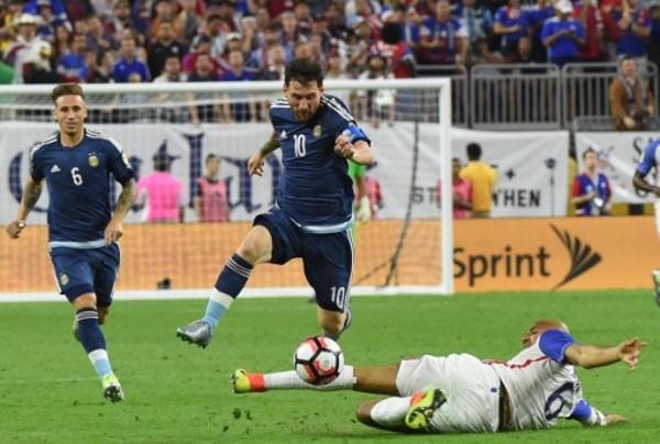 Récord, goleada y final para Argentina en Copa América