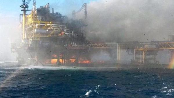 Pemex anuncia investigación de explosión en Campeche