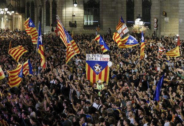 Cronología de la crisis política en Cataluña