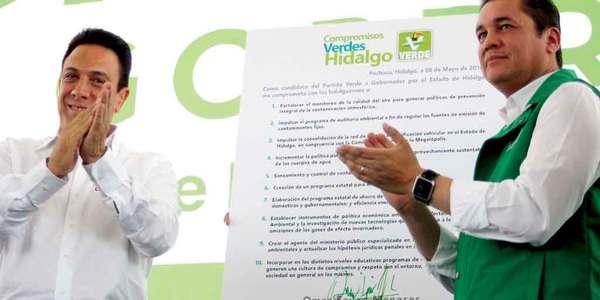 Fayad firma decálogo para proteger el medio ambiente